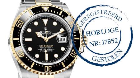 Gestolen horloge