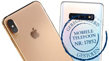 Gestolen mobiele telefoon