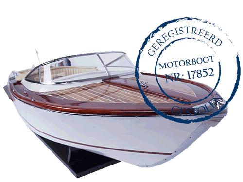 Gestolen motorboot
