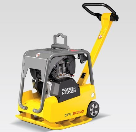 Trilplaat  Wacker Neuson model