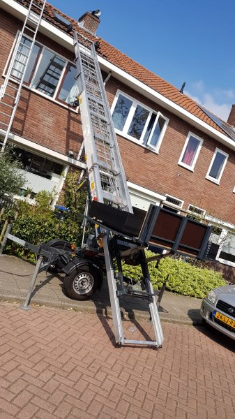Ladderlift Paus 18WH Easy